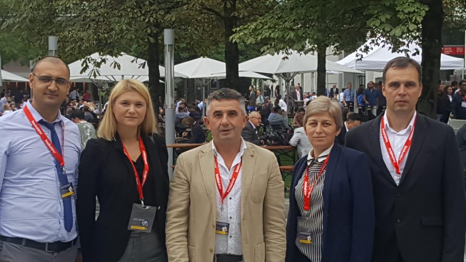 Echipa Steldico la Iba Munchen 2018